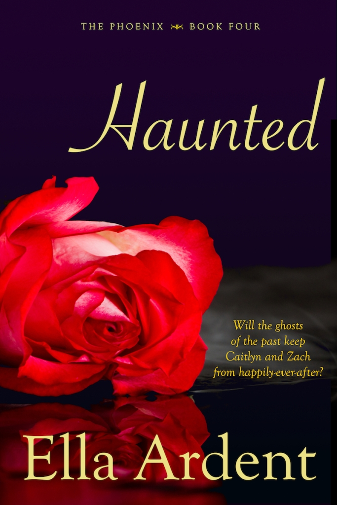 Haunted, book four of the Plume series by Ella Ardent
